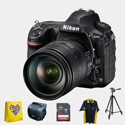Nikon D850 DSLR Camera AF-S 24-120mm f4G ED VR Kit