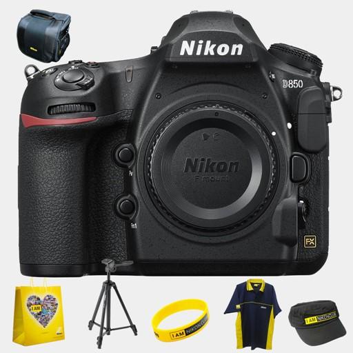 Nikon D850 DSLR Camera (Body only) Bundle Offer