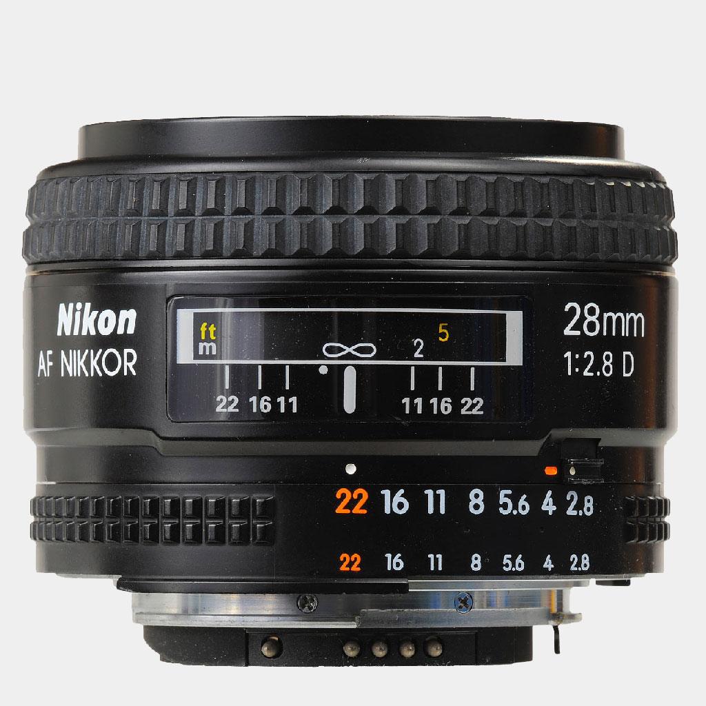 Nikon AF Nikkor 28mm F/2.8   LENS-DB.COM