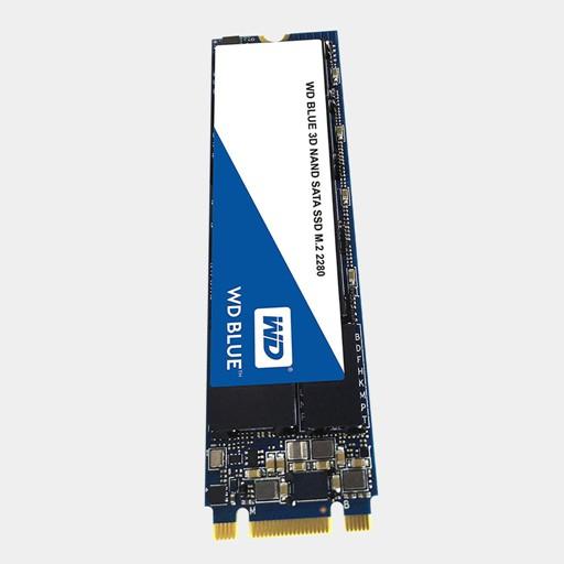 WD Blue 3D NAND 500GB Internal SSD SATA III 6Gb//s M.2 2280 Solid State Drive